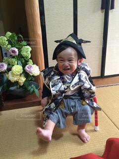 1歳のこどもの日にの写真・画像素材[2211439]