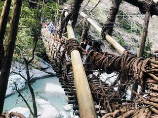 橋を渡る人々の写真・画像素材[2204517]