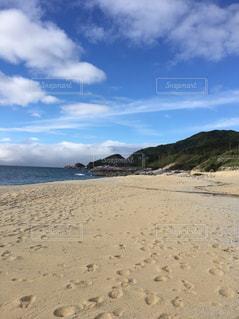 砂浜のビーチの写真・画像素材[2205064]