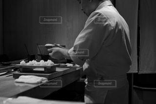 寿司職人の写真・画像素材[2205653]