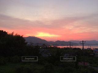 夕焼けの写真・画像素材[2214490]