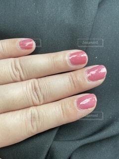 ネイル ピンクの写真・画像素材[4768425]