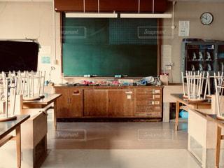 理科室の教卓の写真・画像素材[2223205]