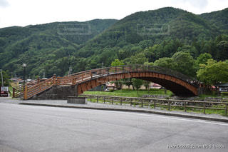 奈良井宿大橋の写真・画像素材[2262513]