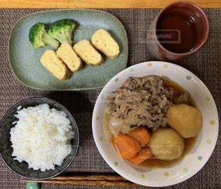 ある日の夕食の写真・画像素材[2228093]