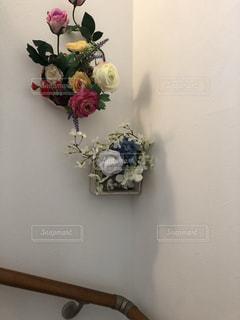 階段の飾り付けの写真・画像素材[2223598]
