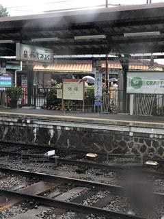 雨の強羅駅の写真・画像素材[2241959]