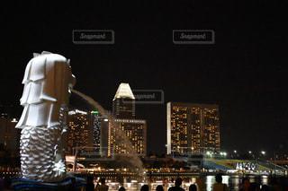 シンガポールのマーライオンの写真・画像素材[2270805]
