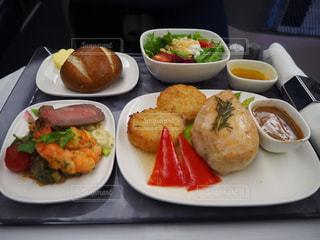 機内食の写真・画像素材[2223607]