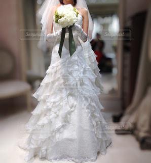 ウェディングドレスの写真・画像素材[2227280]