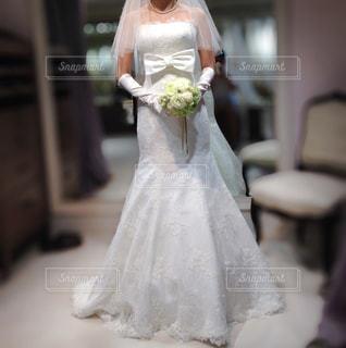 ウェディングドレスの写真・画像素材[2227284]