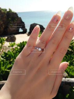 婚約指輪の写真・画像素材[2227321]