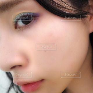 カラーメイクの写真・画像素材[2242386]