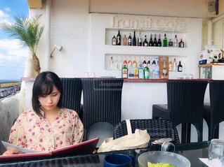 カフェの写真・画像素材[2736141]