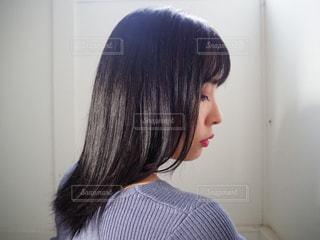 黒髪の写真・画像素材[3018794]