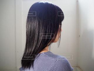 黒髪の写真・画像素材[3018790]