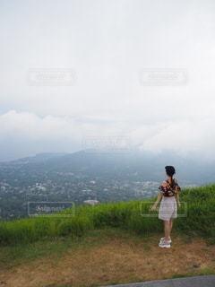 大室山の写真・画像素材[3578148]