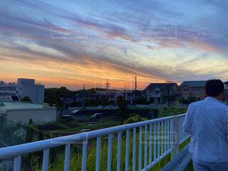 夕日の写真・画像素材[4544179]