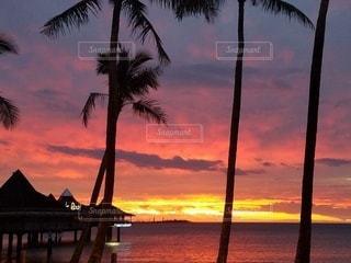 アンスバタビーチの夕暮れの写真・画像素材[2272743]