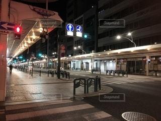終電後の街の写真・画像素材[2229509]