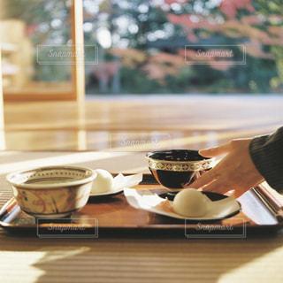 秋のお茶会の写真・画像素材[2791496]