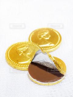 コインチョコレートの写真・画像素材[2339063]