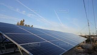 太陽光発電の写真・画像素材[2312571]