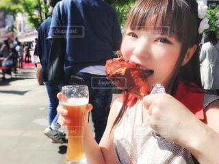 肉食系女子(オクトーバーフェス)の写真・画像素材[2224165]