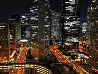 西新宿の夜景の写真・画像素材[2255067]
