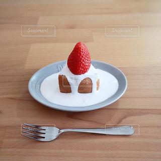 おうちケーキの写真・画像素材[3011471]