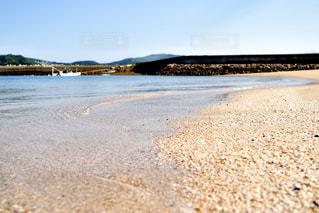 砂浜のビーチの写真・画像素材[1281702]