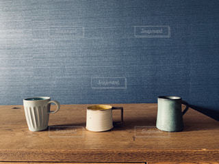 お気に入りのコーヒーカップの写真・画像素材[2229648]