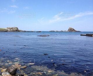 初夏の日本海。広い海。の写真・画像素材[88287]