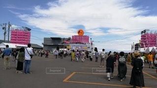 小樽潮祭りメイン会場の風景。の写真・画像素材[2408664]