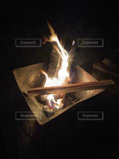 キャンプの写真・画像素材[4412132]
