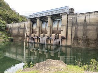 大野ダムの写真・画像素材[4809139]