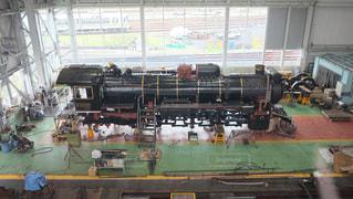 機関車の写真・画像素材[152686]