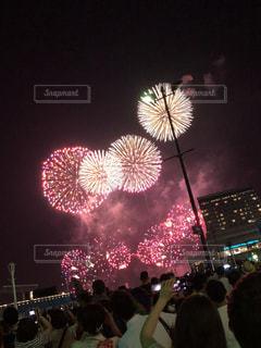 神戸の花火なめてもらっちゃこまりますの写真・画像素材[2225772]