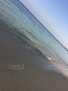 ホテルの裏の絶景ビーチの写真・画像素材[2225788]