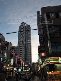 釜山の夕景。の写真・画像素材[2324280]
