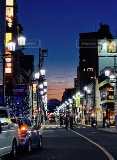 東京から見える富士山の写真・画像素材[2243930]
