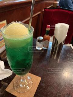 純喫茶で飲むクリームソーダは魅力的の写真・画像素材[2289228]