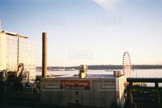 シアトルの観覧車の写真・画像素材[2228001]