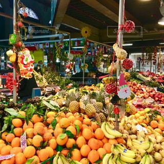 フィレンツェの中央市場の写真・画像素材[2248403]