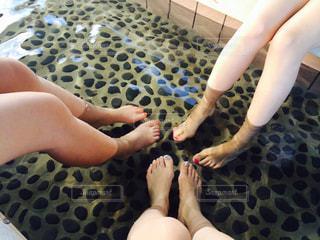 足湯の写真・画像素材[2234019]