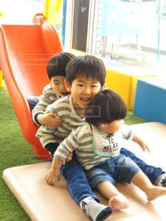 三兄弟の写真・画像素材[2235353]