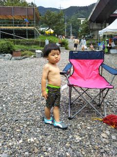 川遊びの写真・画像素材[2235866]