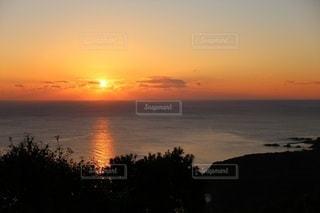鳥羽展望台で見る日の出の写真・画像素材[2242862]