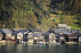 京都 伊根の舟屋の写真・画像素材[2246385]
