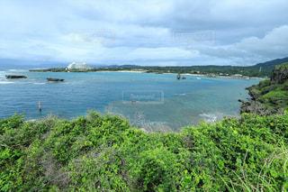 沖縄の人気定番観光スポット・万座毛の写真・画像素材[2262012]